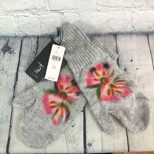 NEW Anthropologie Troubadour Felted Mittens Gloves